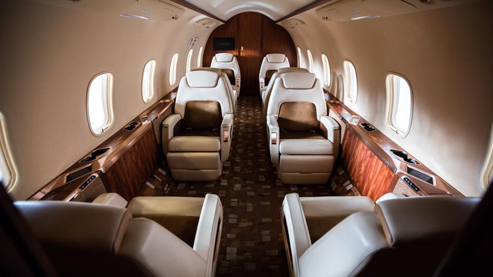 Hamilton Private Jet Trip