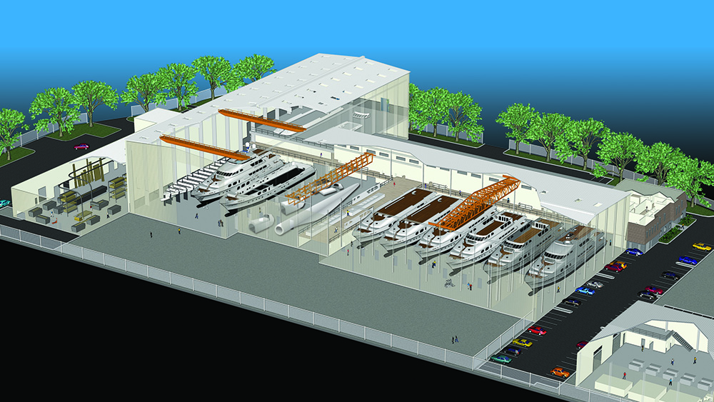 Christensen's Vancouver shipyard.