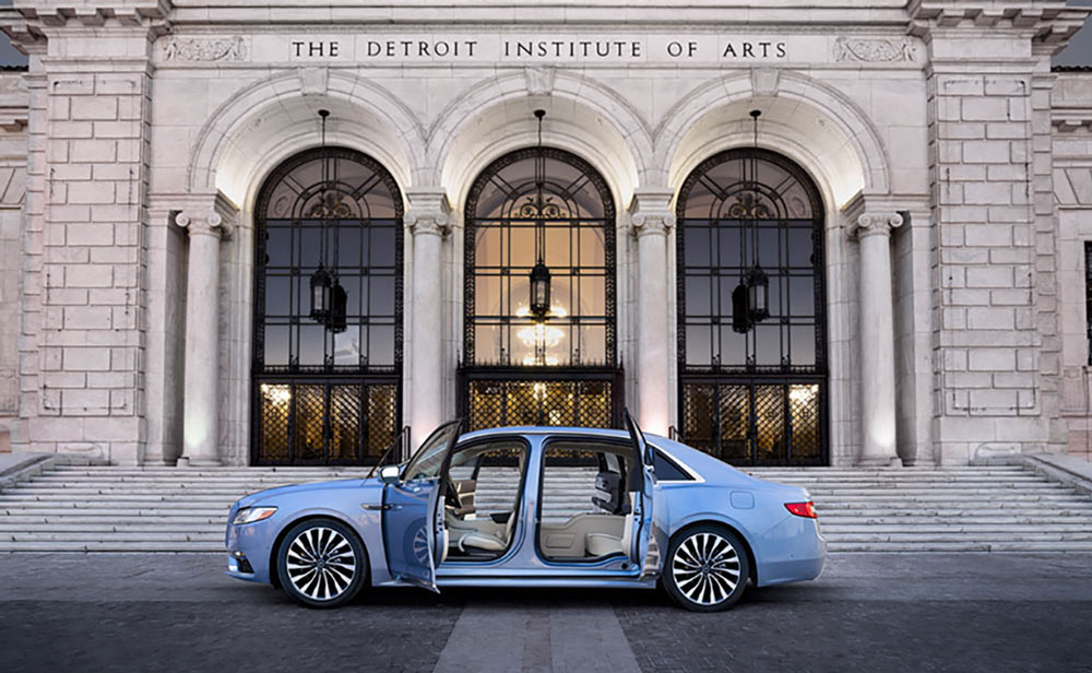 Lincoln's 80th Anniversary Continental Coach Edition.