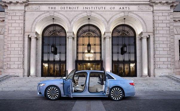 Lincoln's 80th Anniversary Continental Coach Edition.