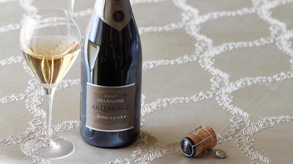 Jordan Cuvee by Champagne AR Lenoble