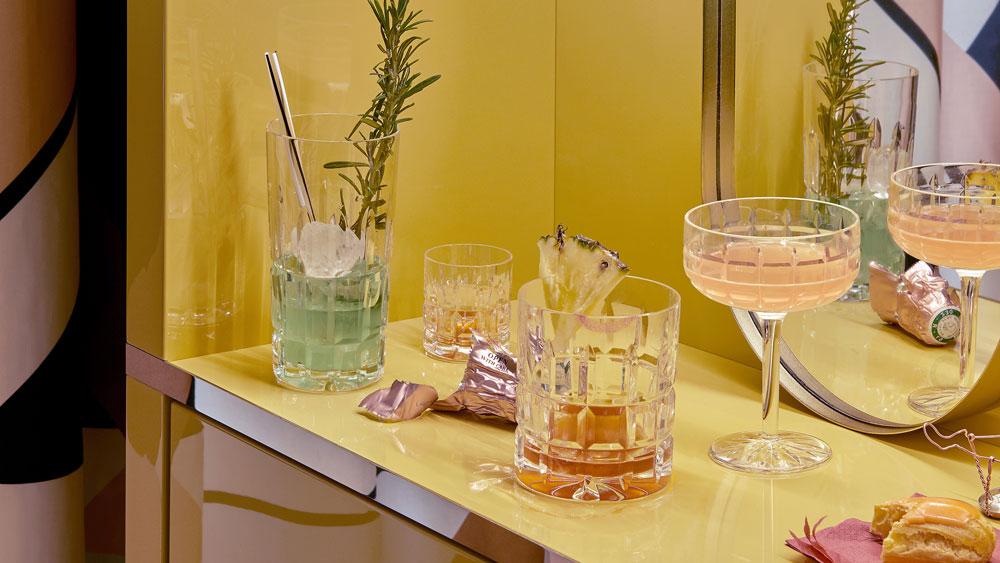 Saint-Louis crystal barware