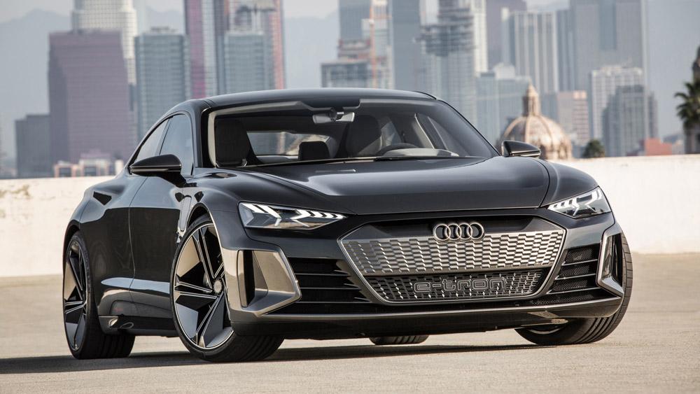 The Audi eTron GT Concept.