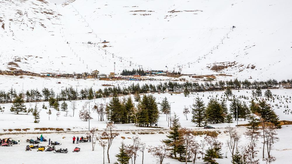 Mzaar Kfardebian Resort Lebanon