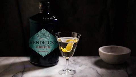 Hendrick's Orbium Gin Martini