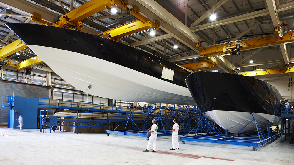 Princess Yachts Shipyard