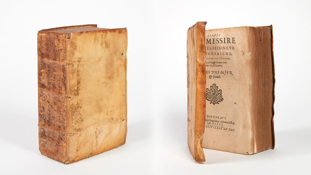 """Michel De Montaigne's """"Essais"""" (1580)"""