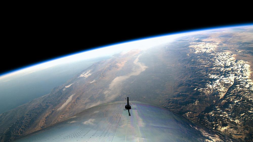Virgin Galactic's First Spaceflight