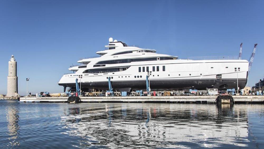 Benetti Meti superyacht yacht designer Giorgio M. Cassetta