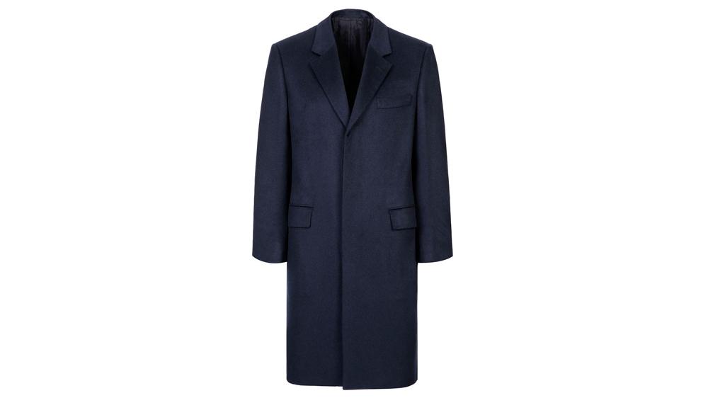 Brioni Midnight Blue Priverno Coat