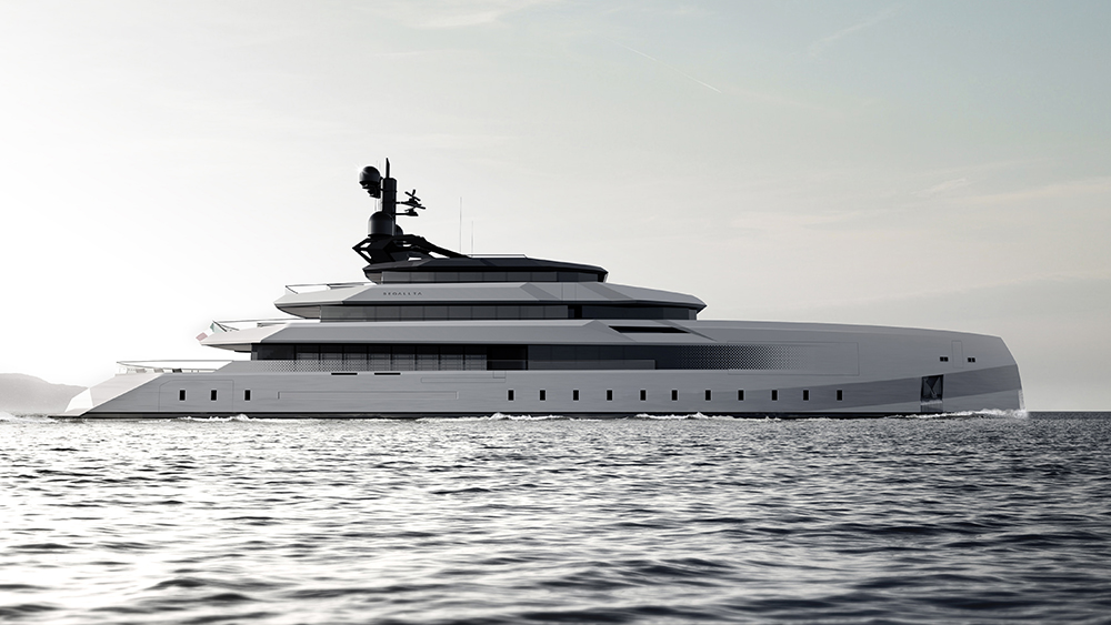 CRN 246-foot superyacht Begallta Lobanov Design