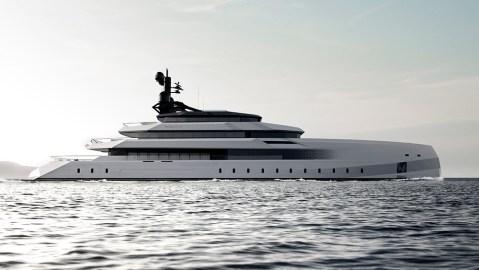 CRN 246-foot superyacht Begallta Lobanov Design