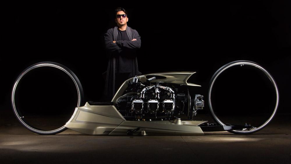 The TMC Dumont motorcyle.