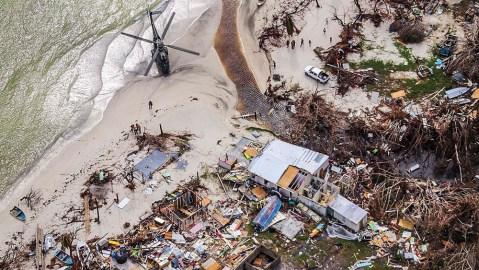 British Virgin Islands Hurricane Irma