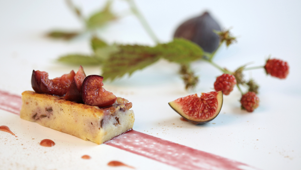Clafoutis Figues Framboises
