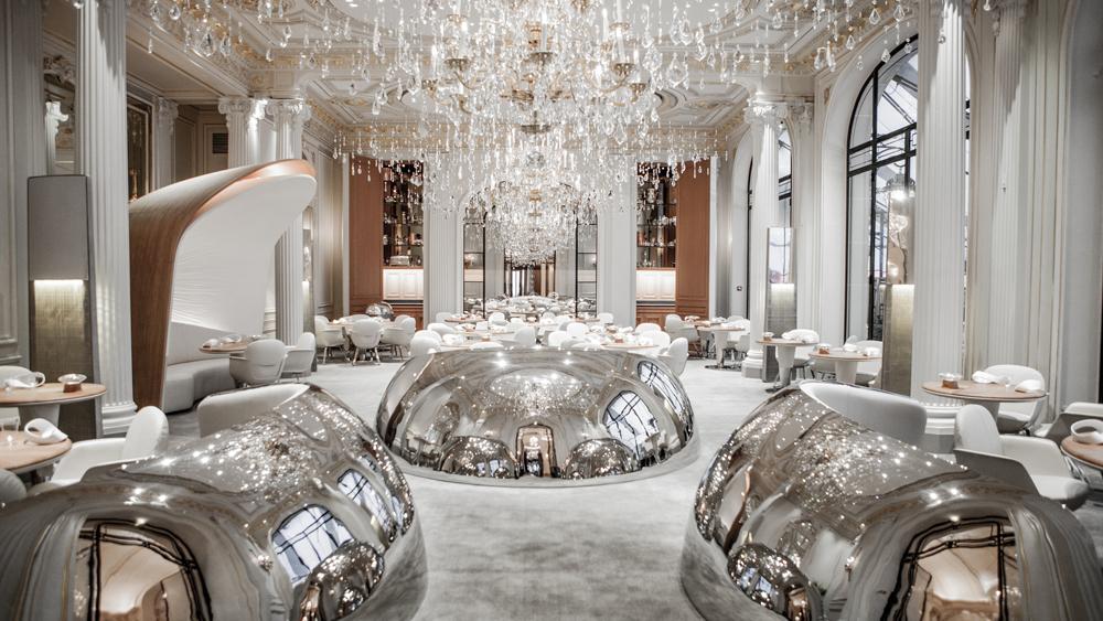 Inside Alain Ducasse's dining room