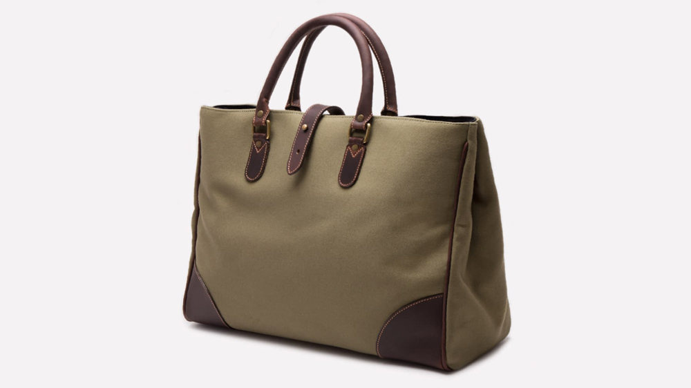 Ettinger Pursuits Piccadilly canvas tote