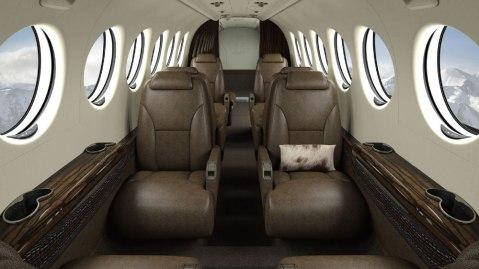King Ranch Edition Beechcraft Kingair 350i