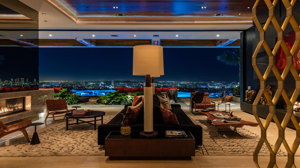 L.A. Home with interiors by Lenny Kravitz