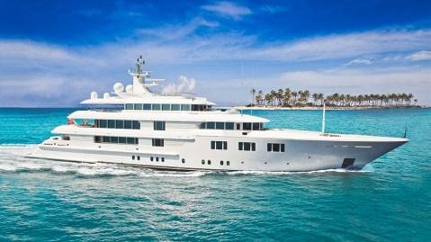 Burgess charter yacht Amels Lady E southeast asia