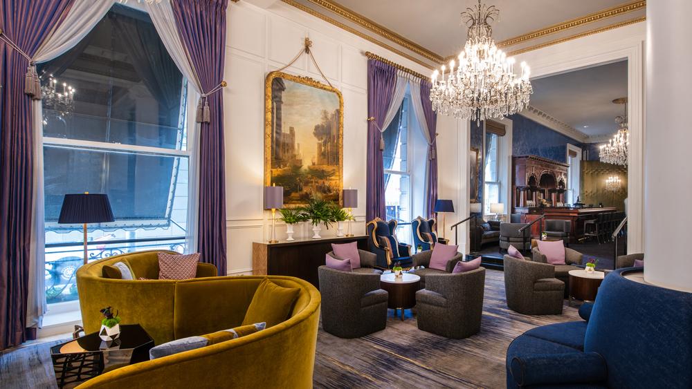 Le Pavillon lounge