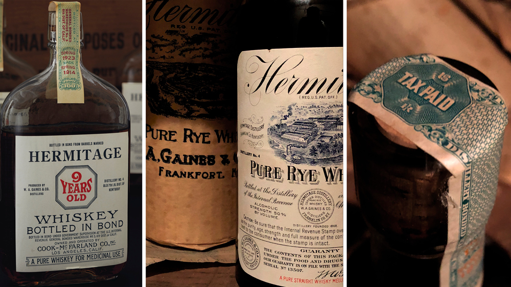 Hermitage Pure Rye Whiskey