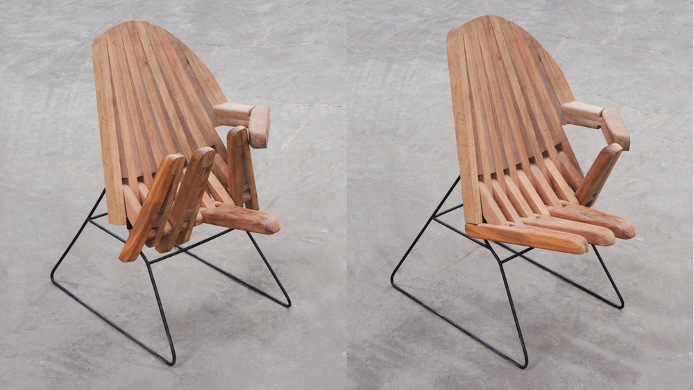 Pedro Reyes's Hand Chair