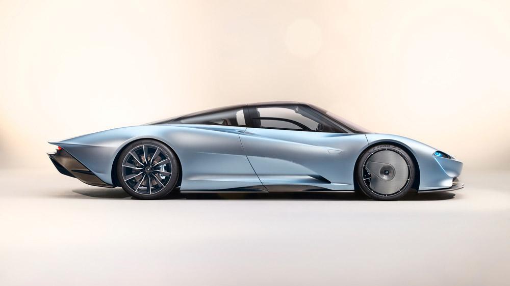 The McLaren Speedtail.