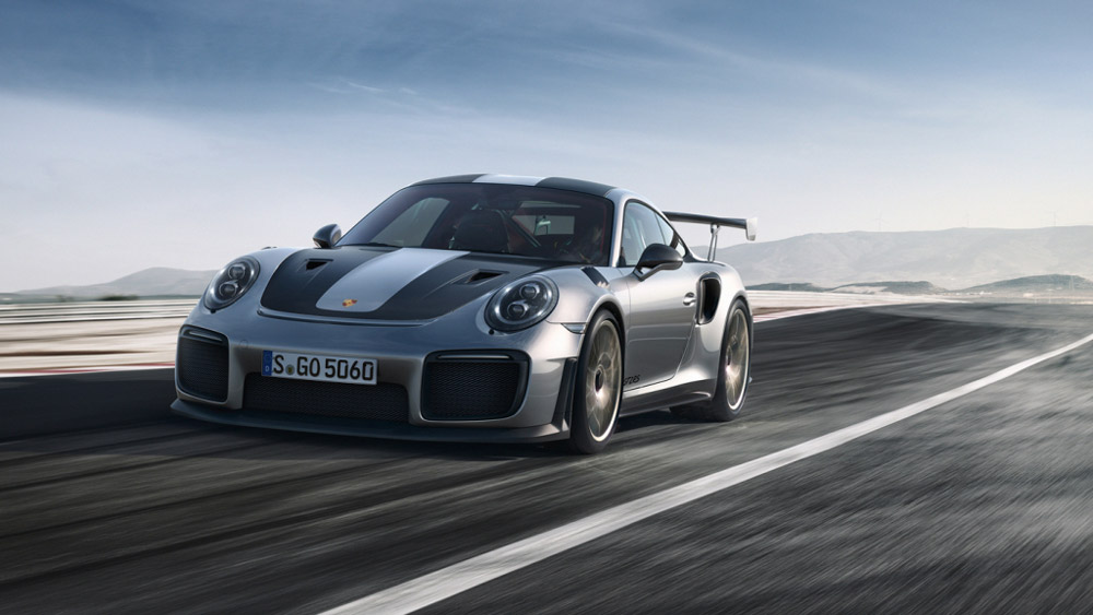 The Porsche 911 GT2 RS.