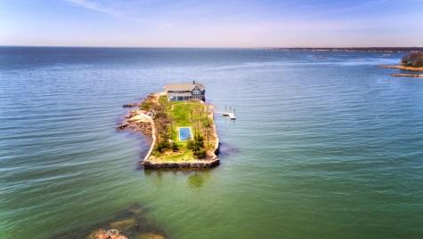 Potato Island in Connecticut