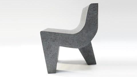 Pedro Reyes's Metate Chair