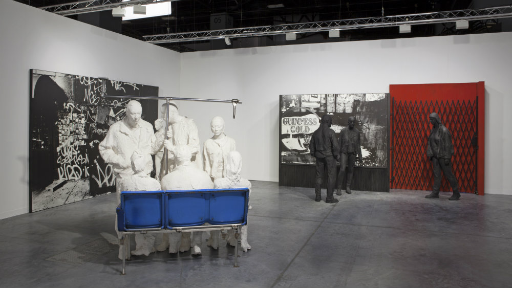 George Segal's life-size works at Art Basel Miami Beach.