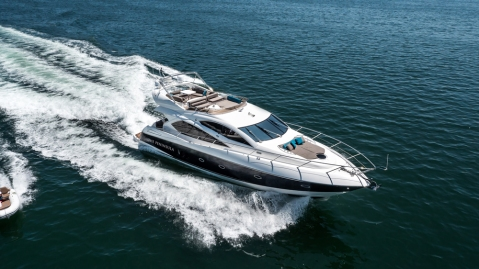 The Peninsula Hong Kong's New Sunseeker Yacht