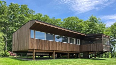Marcel Breuer's Stillman Cottage