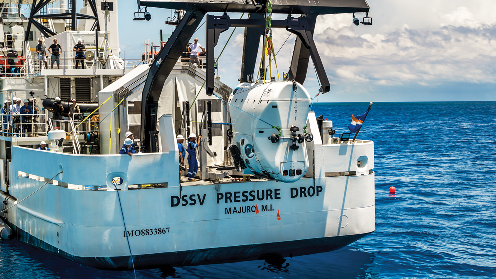 The Five Deeps Expedition will explore the deepest points in the ocean.
