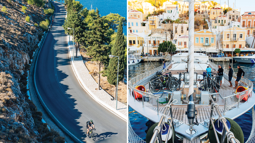 Greek Cycling and Sailing