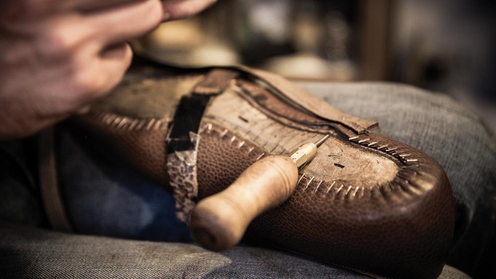 Corthay Shoe Making
