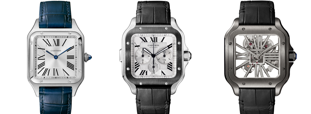 Cartier Santos Dumont Collection