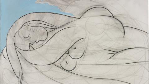 """Pablo Picasso's """"La Dormeuse"""""""