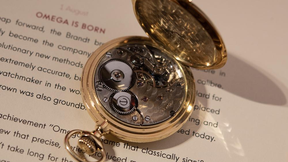 1894 Omega Pocket Watch with 19-Ligne Caliber