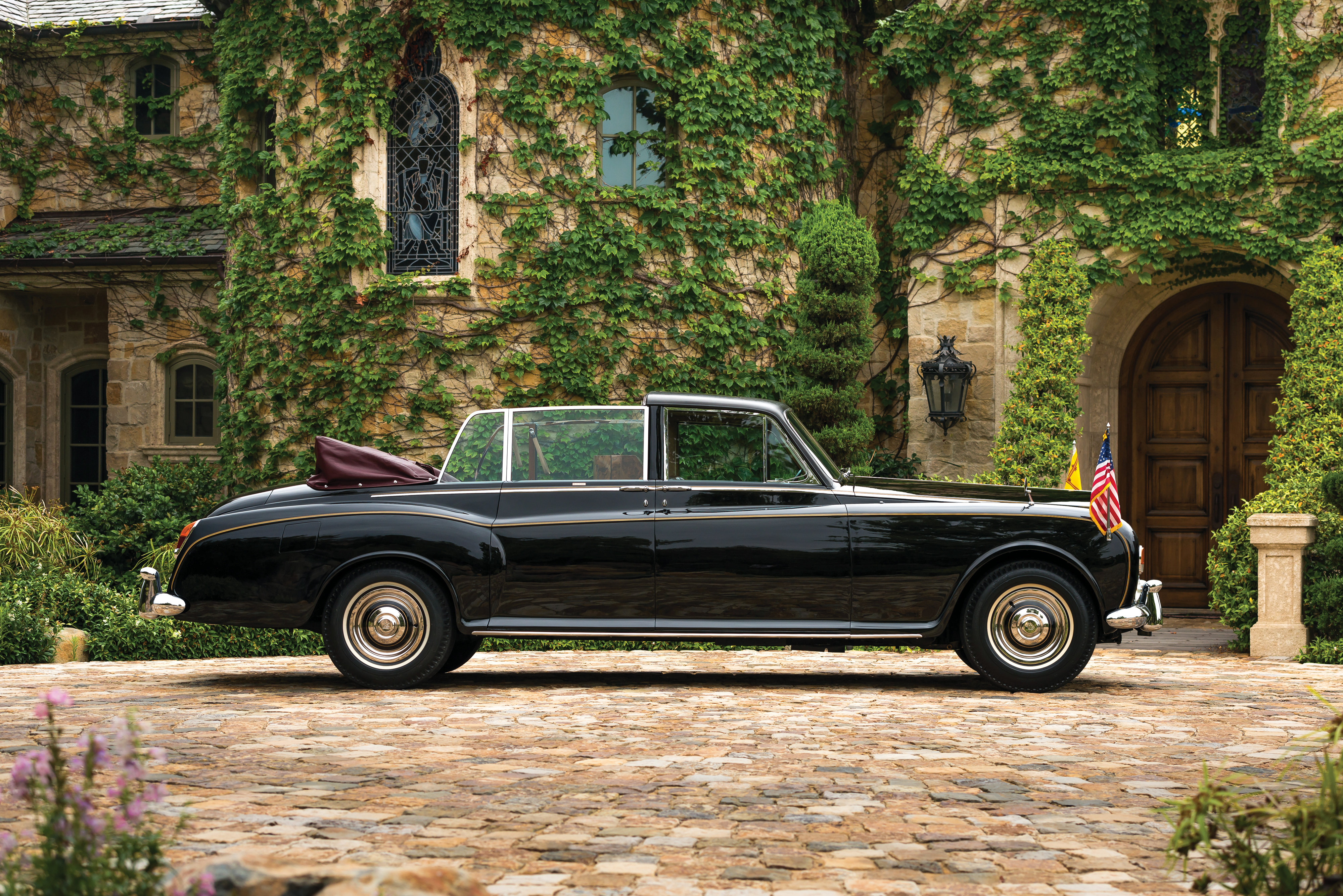 A 1967 Rolls-Royce Phantom V State Landaulet by Mulliner Park Ward.
