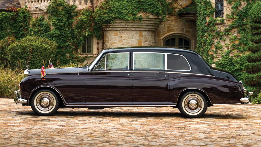 A 1972 Rolls-Royce Phantom VI Limousine by Mulliner Park Ward.