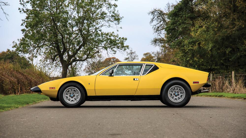 A 1974 De Tomaso Pantera L by Ghia.