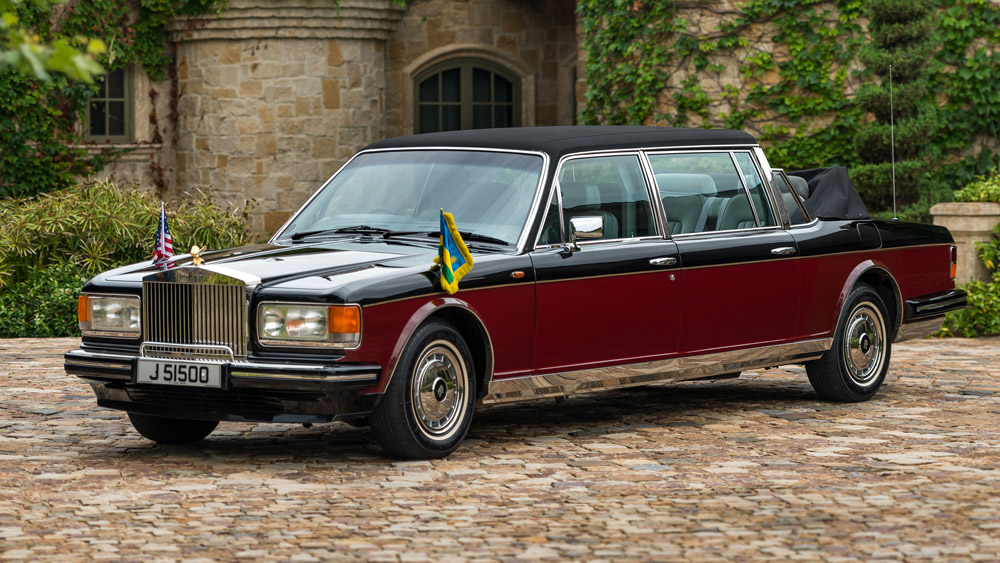 A 1989 Rolls-Royce Silver Spirit I Emperor State Landaulet by Hooper.