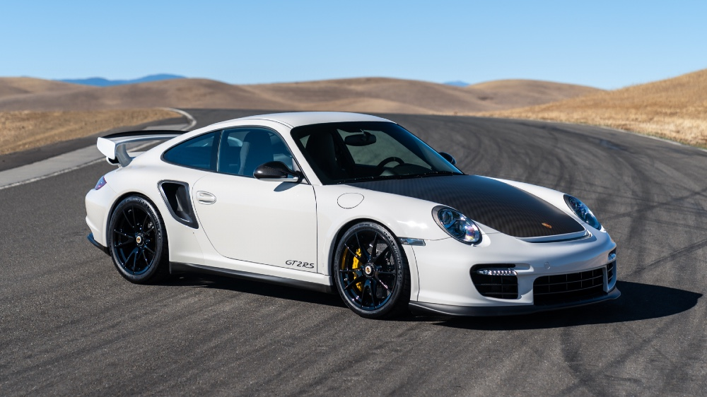 Jan Koum's 2011 Porsche 2011 997 GT2 RS.