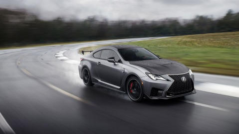 The 2020 Lexus RC F Track Edition.