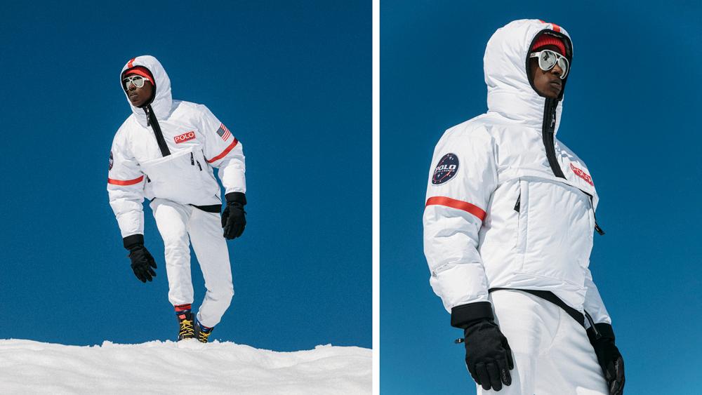 Ralph Lauren's new self-heating moon jacket.