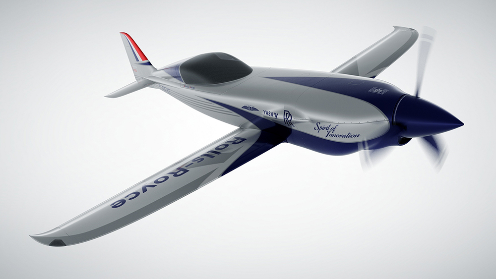 Rolls-Royce ACCEL all-electric aircraft