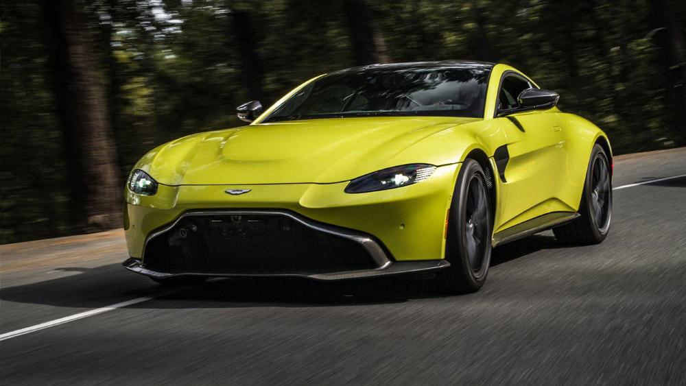The 2019 Aston Martin Vantage.