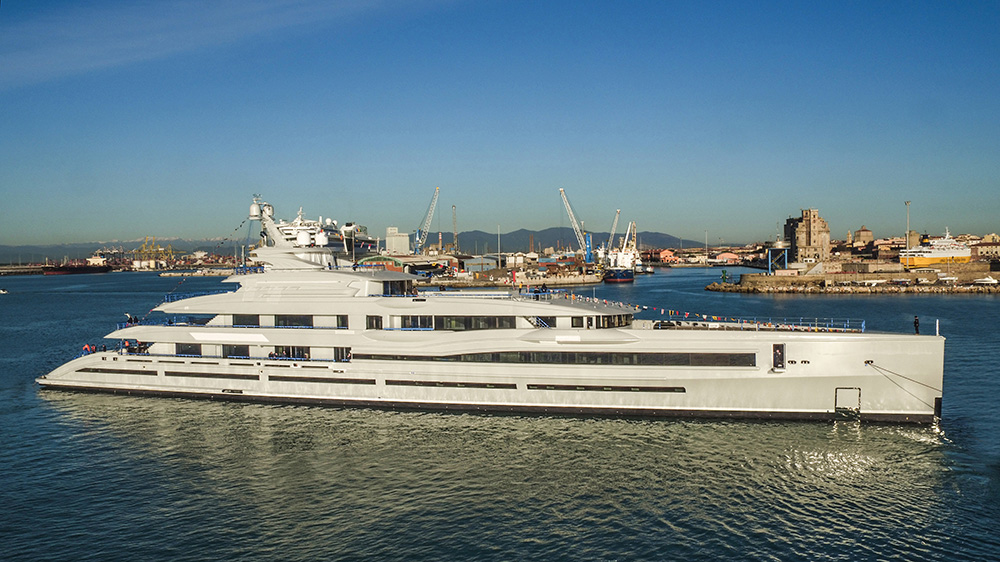 Benetti FB277, the yard's largest yacht ever.